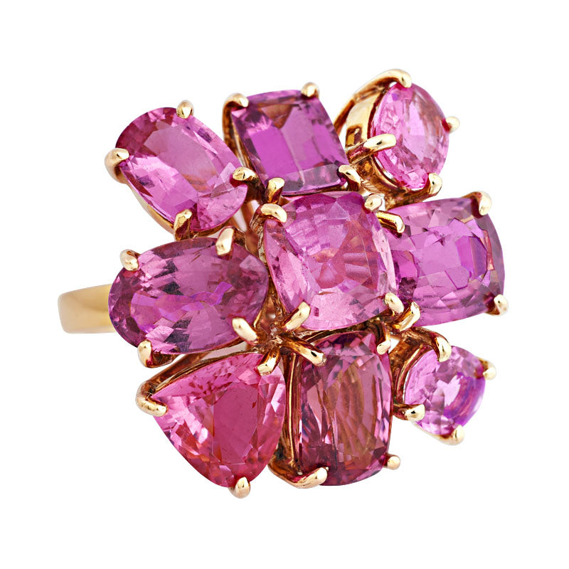 Ring-Pink Sapphire