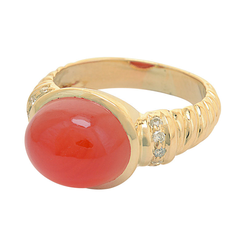 Ring-Cornelian and Diamond