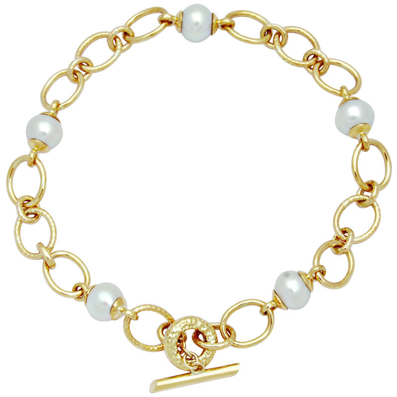 Necklace-South Sea Pearl With Toggle Lock