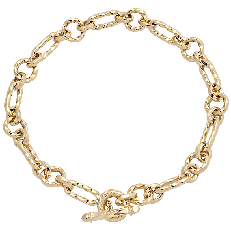 Necklace-Plain Gold