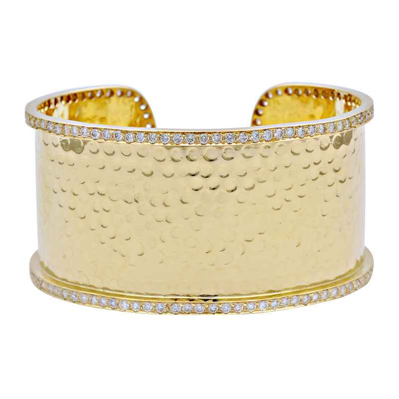 Cuff Bangle-Diamond