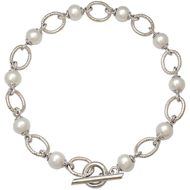 Toggle Necklace-South Sea Pearl