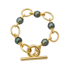 Toggle Bracelet- South Sea Pearl