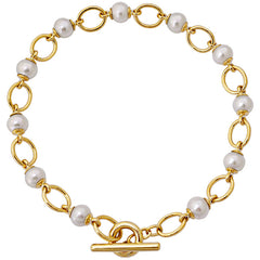 Toggle Necklace- South Sea Pearl