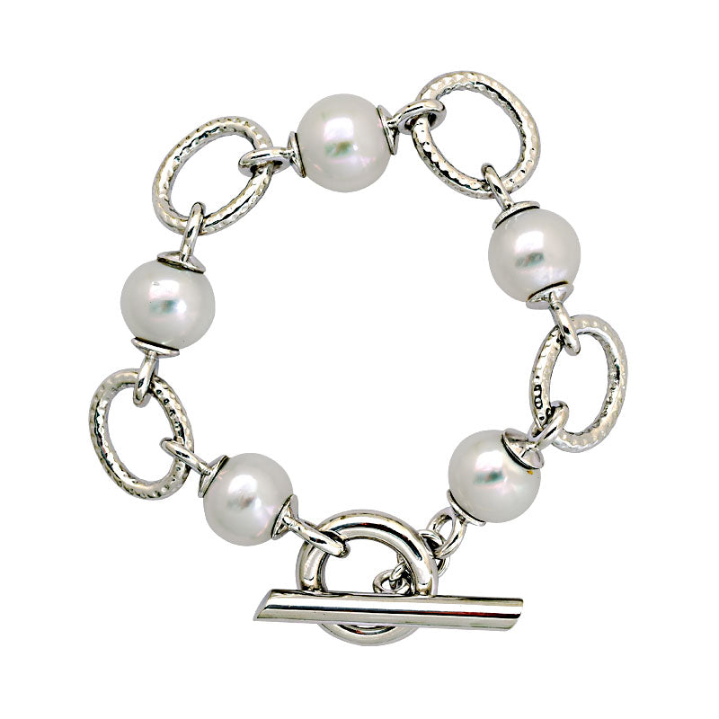 Toggle Bracelet-South Sea Pearl