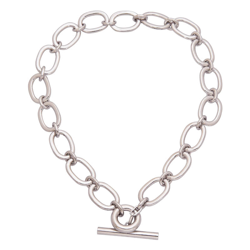Toggle Necklace- Sterling Silver