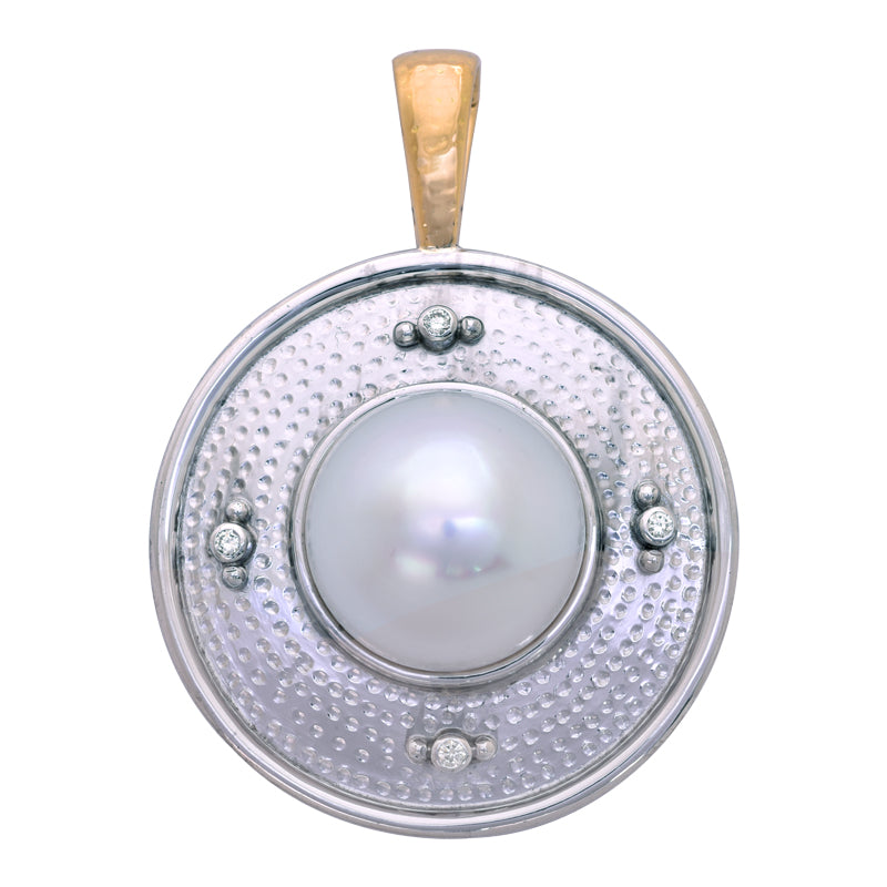 Pendant- South Sea Pearl and Diamond