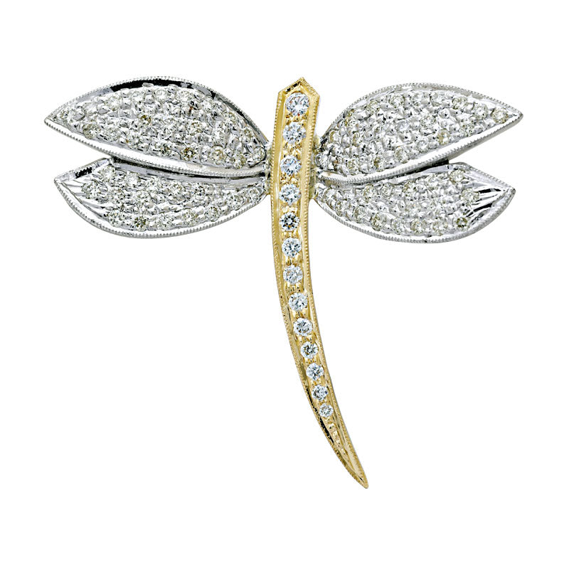 Brooch-Diamond
