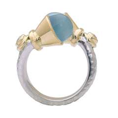 Ring-Chalcedony and Diamond