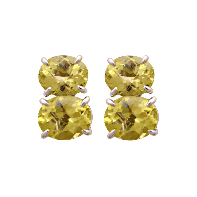 Earrings-Lemon Quartz