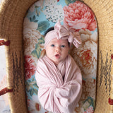 Pink Rose Swaddle