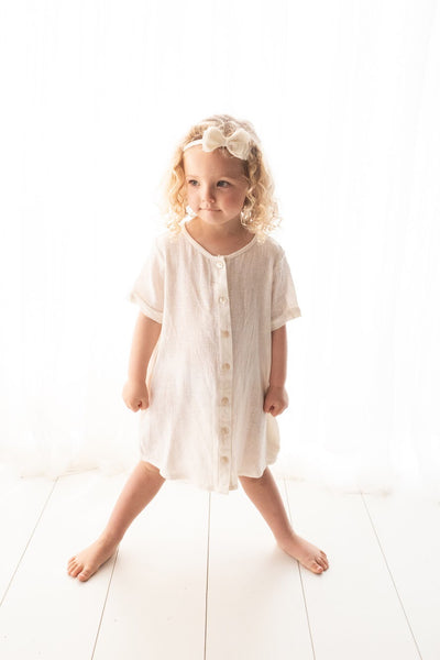 Natural Linen T-shirt/Dress