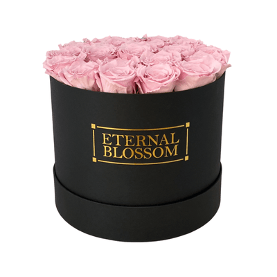 Classic Collection - Large Round Blossom Box - Year Lasting Infinity Roses-Eternal Blossom - Year Lasting Infinity Roses