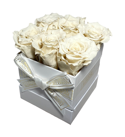 Classic Collection - 6 Piece Blossom Box - Year Lasting Infinity Roses-Eternal Blossom - Year Lasting Infinity Roses