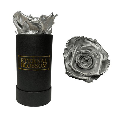 Individual Blossom Box - Luxury Metallic Collection-Eternal Blossom - Year Lasting Infinity Roses