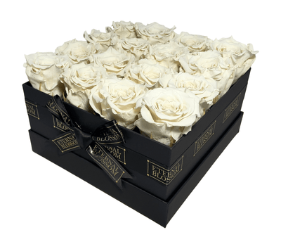 Classic Collection - 16 Piece Blossom Box - Year Lasting Infinity Roses-Eternal Blossom - Year Lasting Infinity Roses