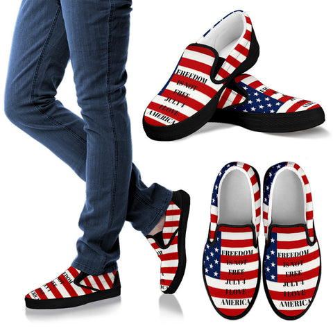 MEN'S SLIP ONS- JULY4