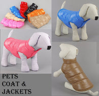 Pets, Cat and Dogs  Coat & Jackets