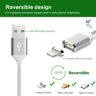 Magnetic Charging Cable for iPhone's and Android's