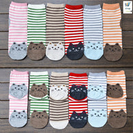 Cat Cotton Socks