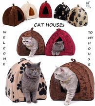 Cat House and Pet Beds