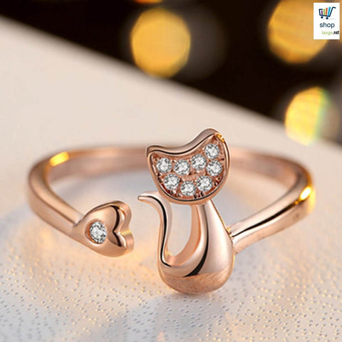 Cat Shaped Ring
