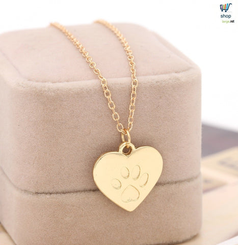 Heart-Love Cat Necklace