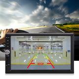 "7"" Stereo Bluetooth MP5 Player Car Radio HD Touch Screen FM/AUX/USB/TF +Camera"