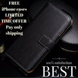 Leather Wallet Case For iPhone 6 ,6S, 6 Plus, 7, 7 Plus