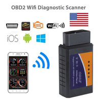 OBDII Diagnostic Car Scanner Tool for any IOS, Android and Windows Device via WIFI