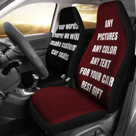CAR SEAT COVERS-EXCLUSIVE-CUSTOM MADE-Personal Named