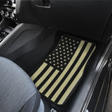 "Front Car Mats (set of 2)- ""US flag""-EXCLUSIVE-CUSTOM MADE"