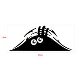 Auto Car Sticker- Peeking Monster