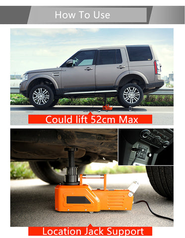 10 TON Electric Heavy Duty SUV 12V/24V Car Jack electric