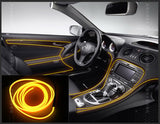 2m/3m/5m Car LED Cold lights Flexible Neon Interior Decoration Strips lamps- 12V