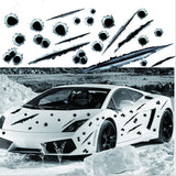 3D Bullet Hole Car Stickers- Auto