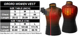 Fashion Women/Ladies Windbreaker Electric Heated Down Vest Sleevless Jacket