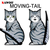 Stickers Car Window Wiper Cat Moving Tail