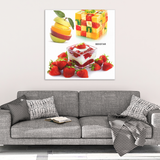 Strawberry Fruit Canvas