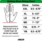 Black American Flag Batting Gloves - New Grip
