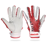 Impact Red Batting Gloves