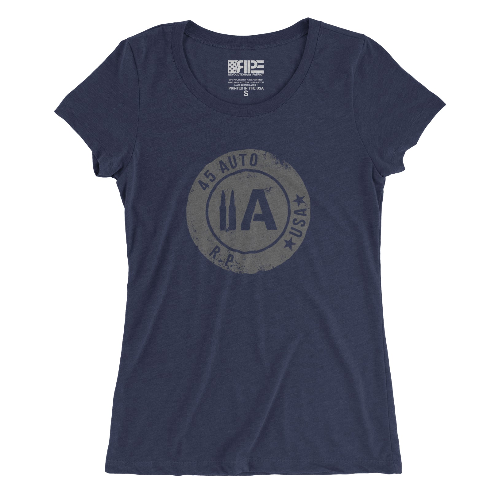 45 Auto Women's - (Heather Navy Triblend)