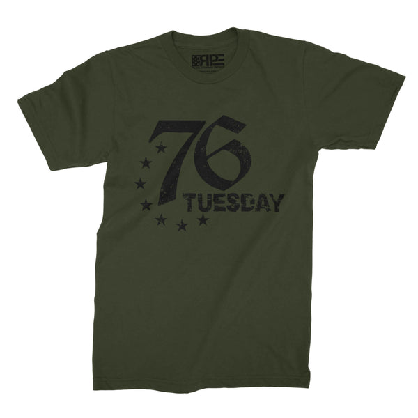 76 Tuesday (Army) - Revolutionary Patriot