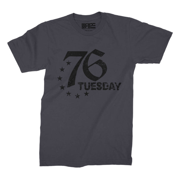 76 Tuesday (Grey) - Revolutionary Patriot