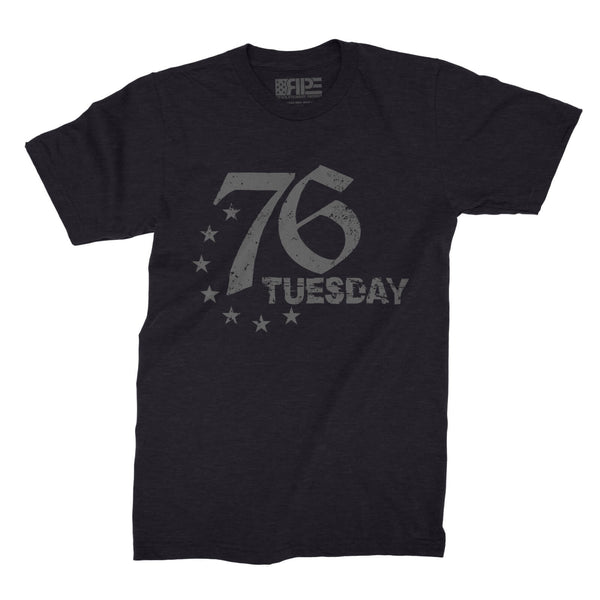 76 Tuesday (Black Heather) - Revolutionary Patriot