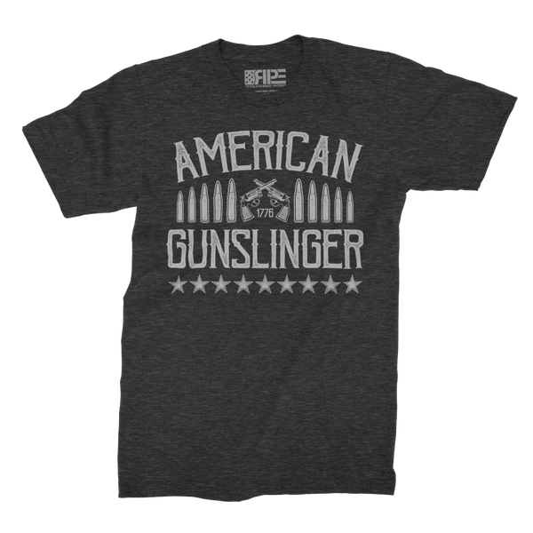 American Gunslinger (Dark Grey Heather) - Revolutionary Patriot