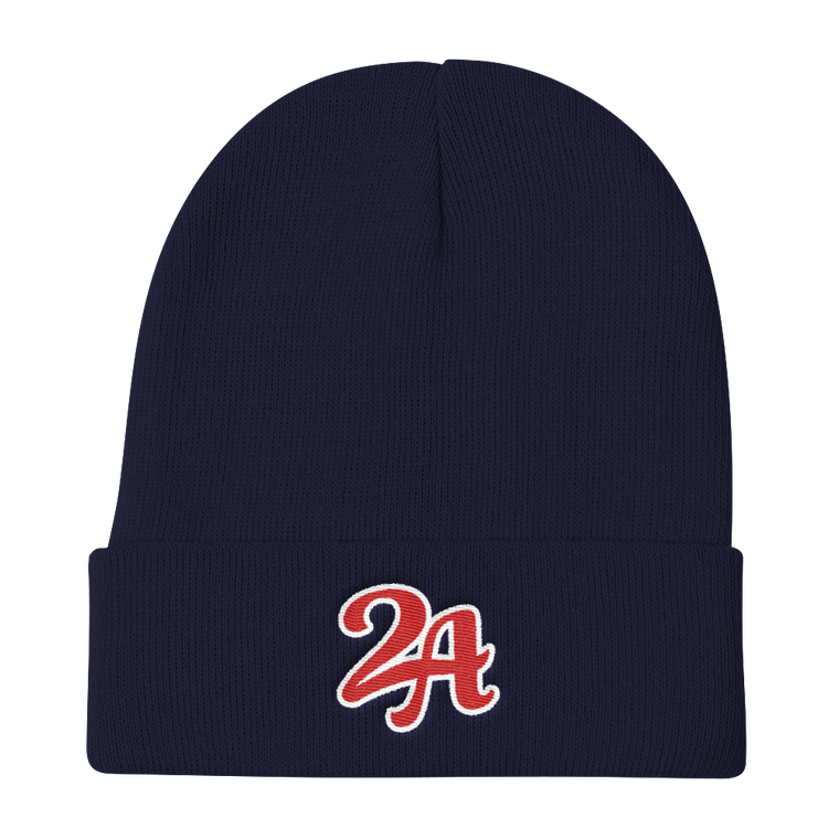 Second Amendment Collegiate Beanie (Navy)