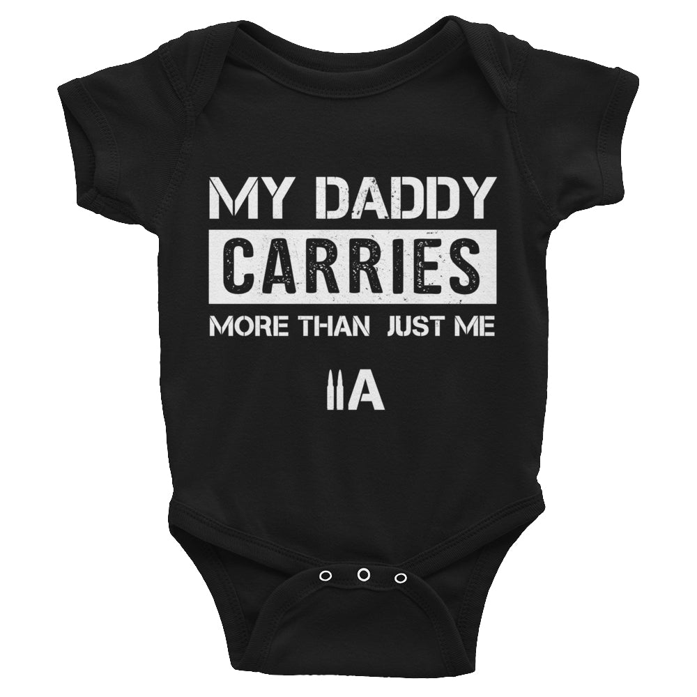 EDC Daddy Onesie - (Black) - Revolutionary Patriot
