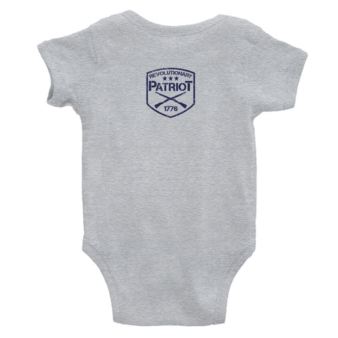 EDC Daddy Onesie - (Grey) - Revolutionary Patriot