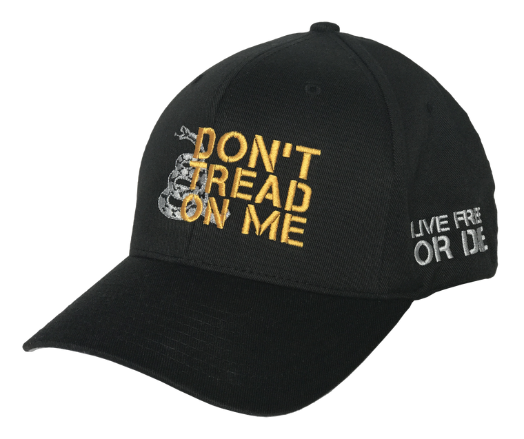 Don't Tread on Me Flexfit (Black)